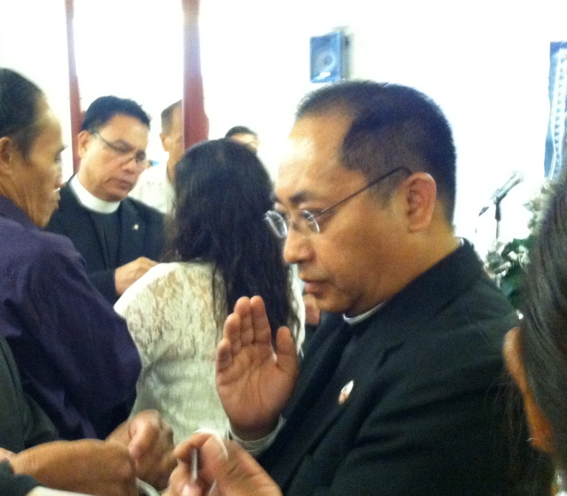 The Rev. Toua Vang, the first Hmong Episcopal priest